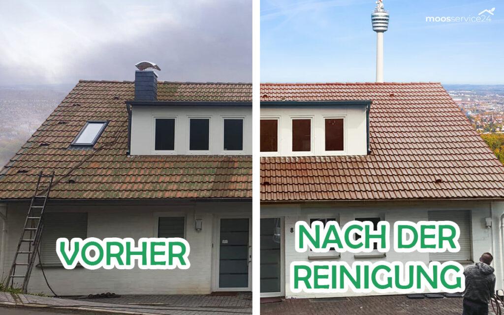 Dach reinigen Stuttgart